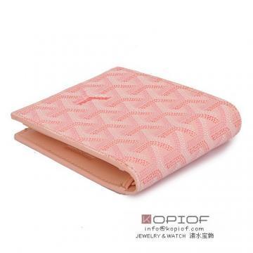 日本超激得低価ゴヤール 財布新作可愛い 二つ折り 名刺入れ ピンク レディース美品
