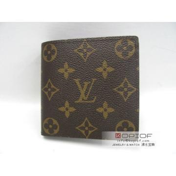 上品なルイヴィトン 二つ折り財布新作ポルトフォイユ・マルコ モノグラムギフト最適男性用