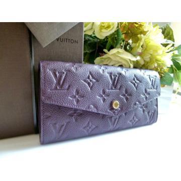 セレブ着用率No.1高級ルイヴィトン 財布louisvuitton クラッチバッグ長財布オーブ紫