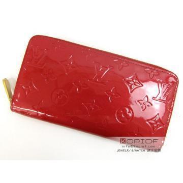 世界限定!ルイヴィトン長財布レッド赤色一番louisvuitton ジッピー・ウォレット